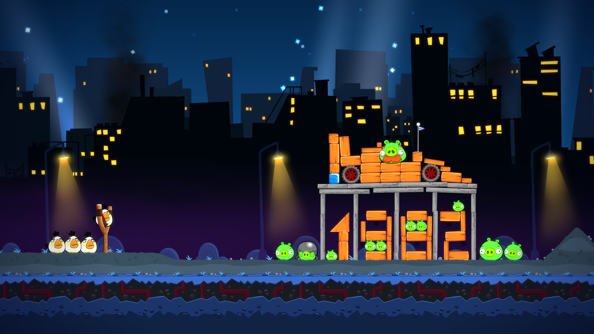Nat games Angry Birds Trilogy screen 1