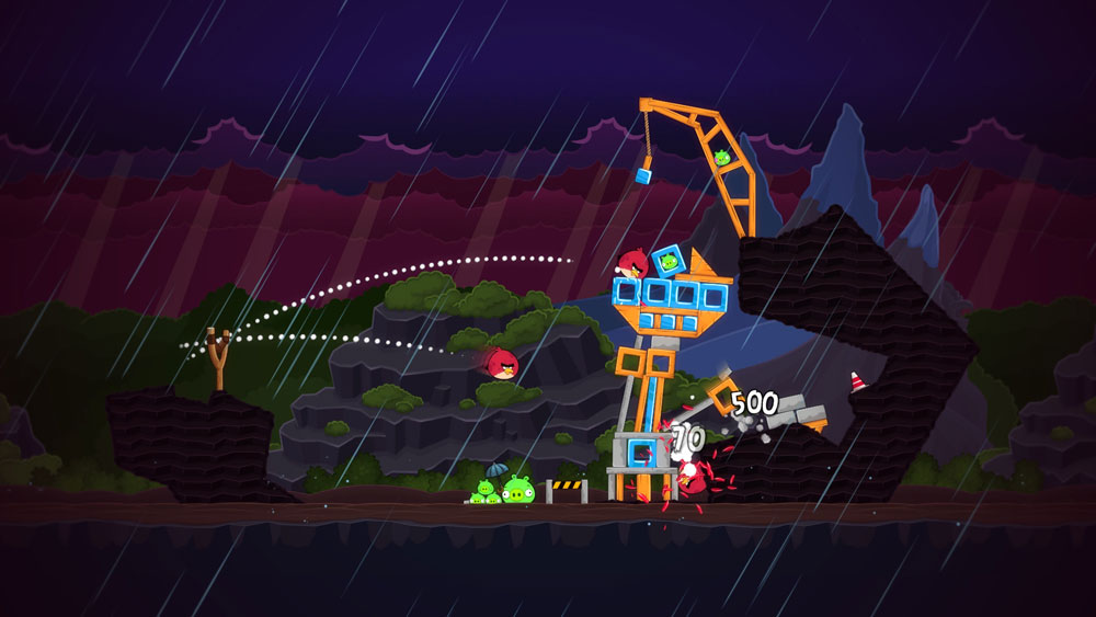 Nat games Angry Birds Trilogy screen 2