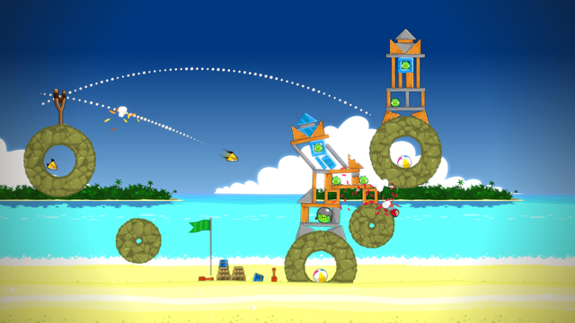 Nat games Angry Birds Trilogy screen 3