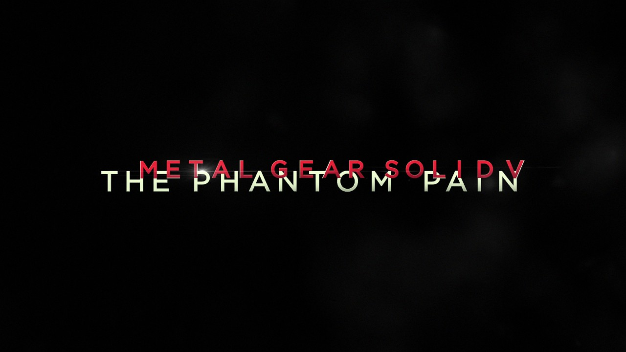 "Metal Gear Solid 5: The Phantom Pain – Finaler Packshot ohne ""Kojima Productions"""