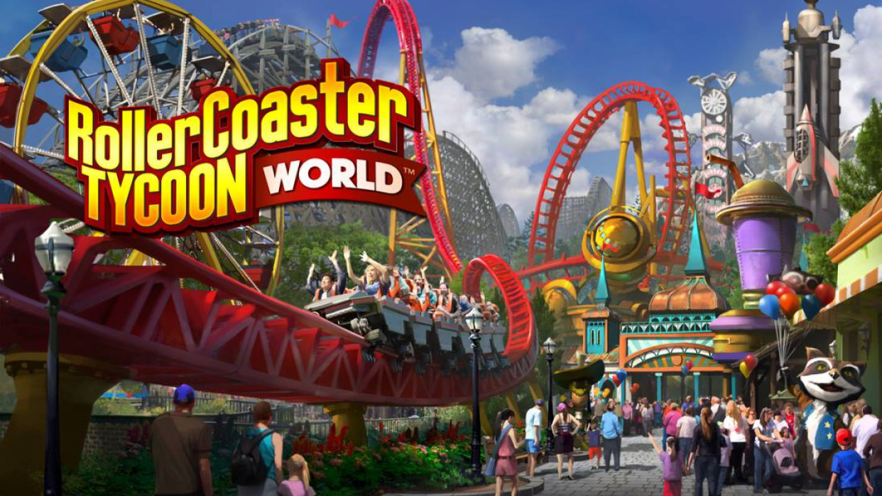 Angespielt: RollerCoaster Tycoon World (Beta)