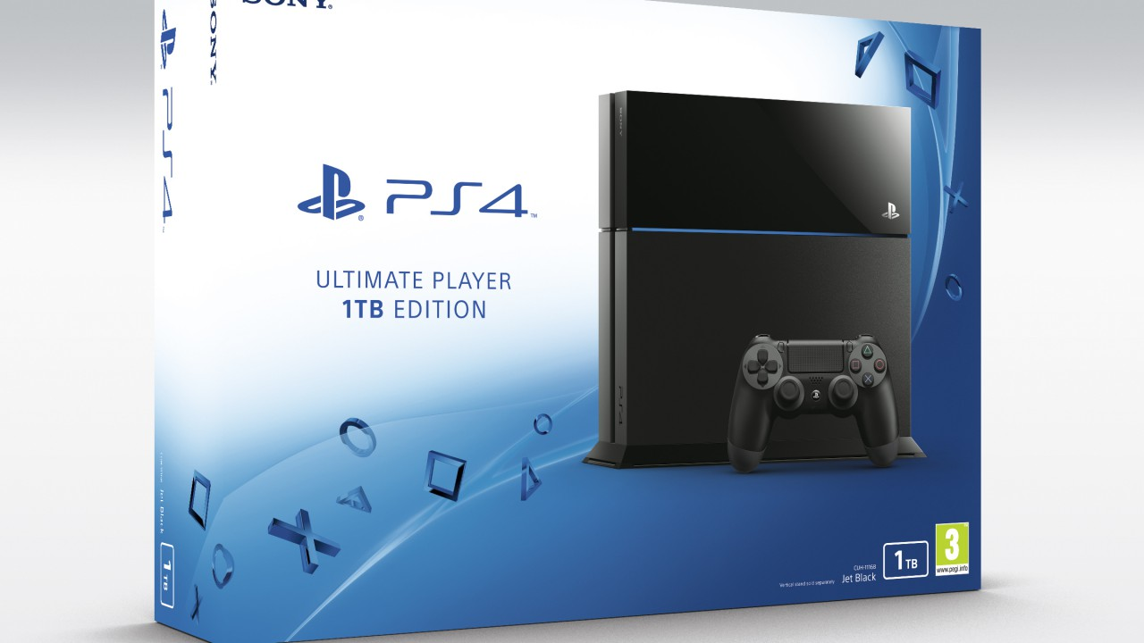 Playstation 4 – 1 TB-Version für 299€