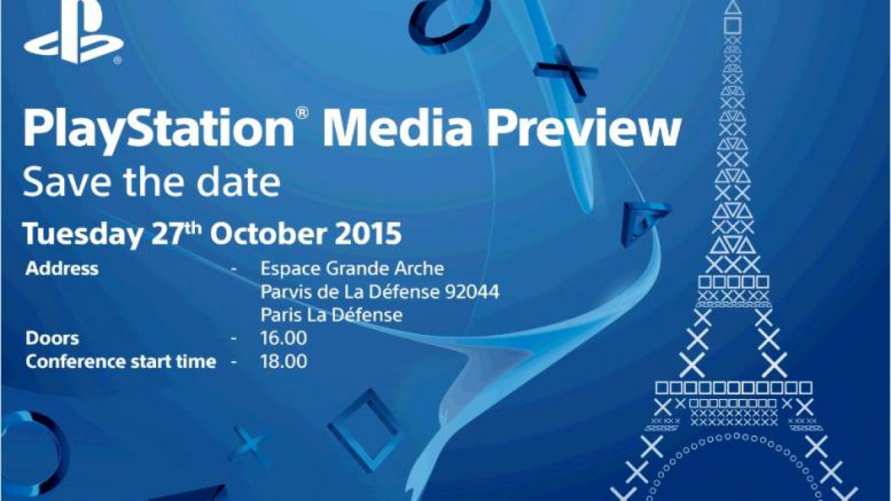 Playstation – Paris Games Week Konferenz Termin steht fest