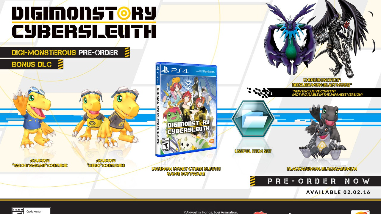 Digimon Story: Cyber Sleuth – Us-Release bekannt