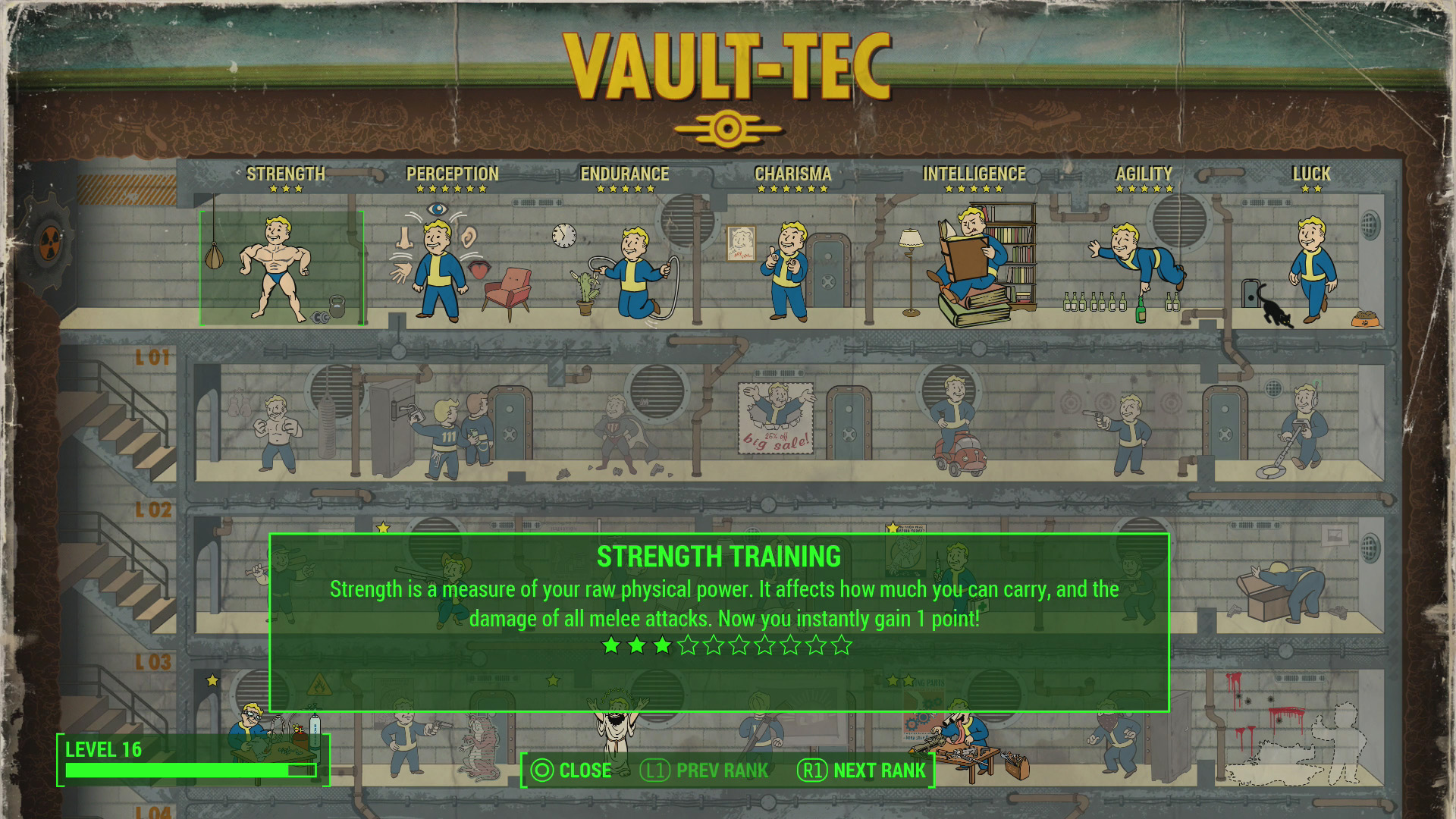Fallout  Best Vats Build
