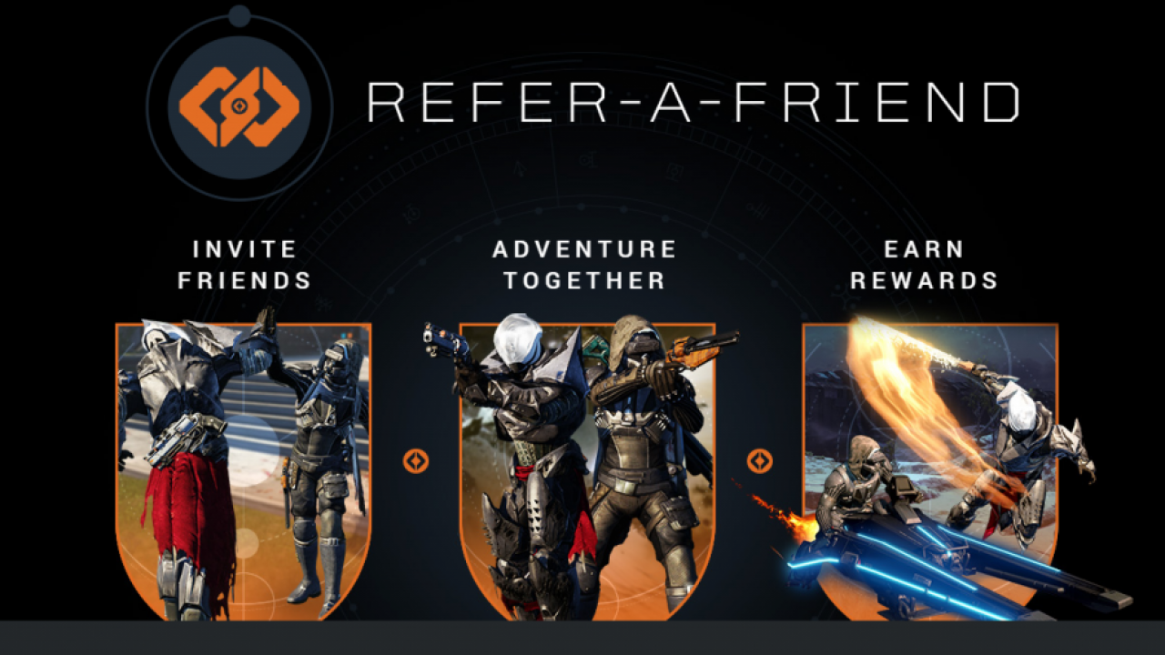Destiny The Taken King – Refer a Friend Programm seit gestern aktiv