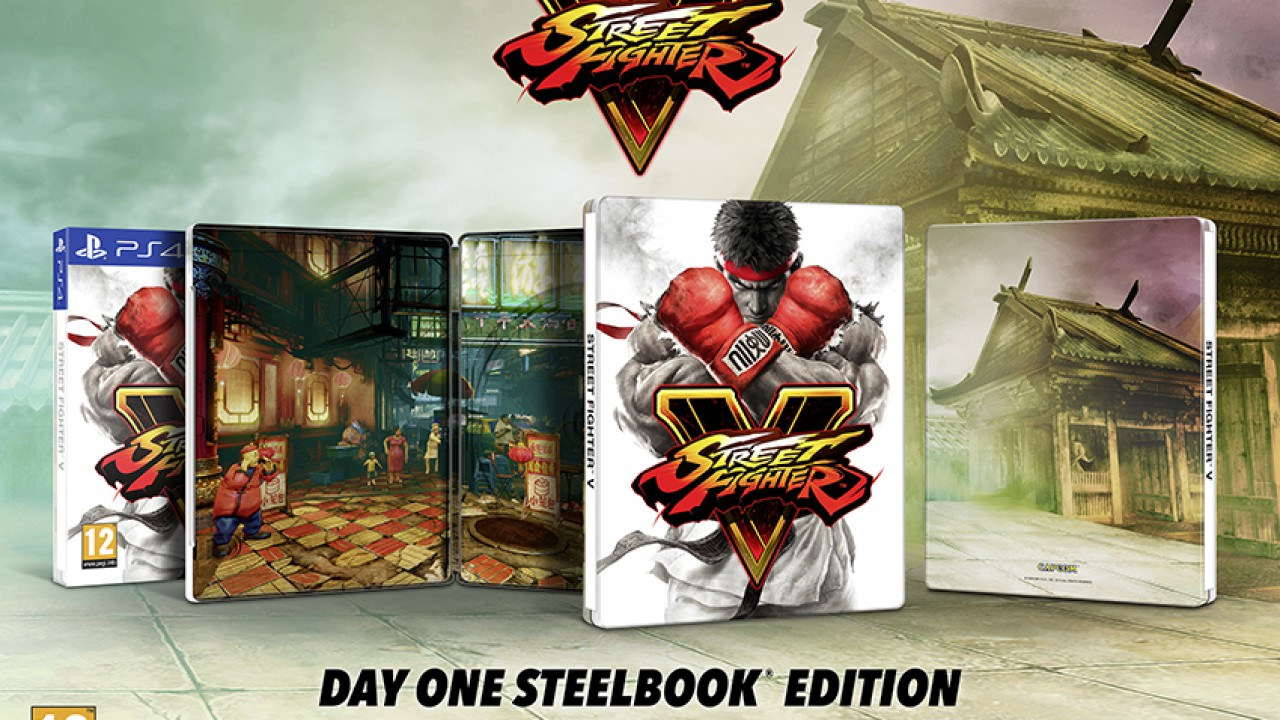 Street Fighter V – Day One Steelbook Edition für Europa angekündigt