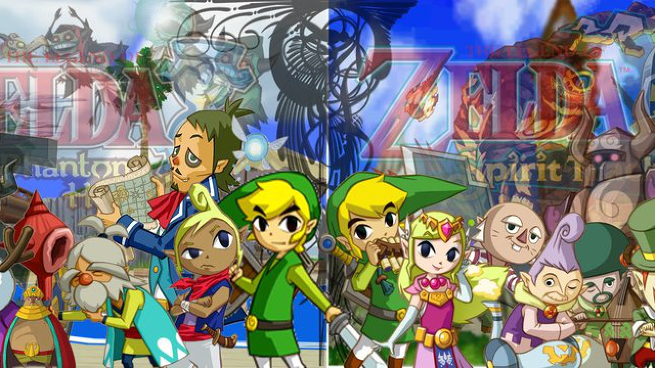 The Legend of Zelda – Phantom Hourglass und Spirit Tracks im eshop