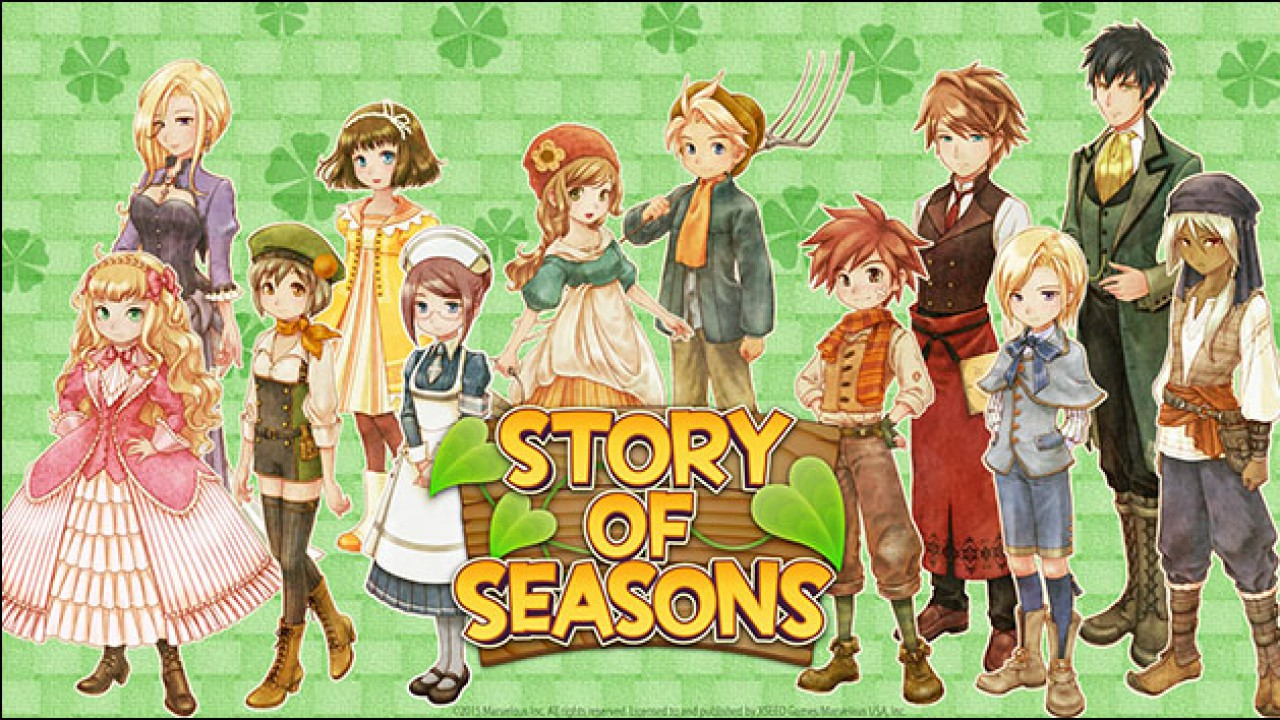 Story of Seasons: Good Friends of Three Villages – Flut an Screenshots veröffentlicht