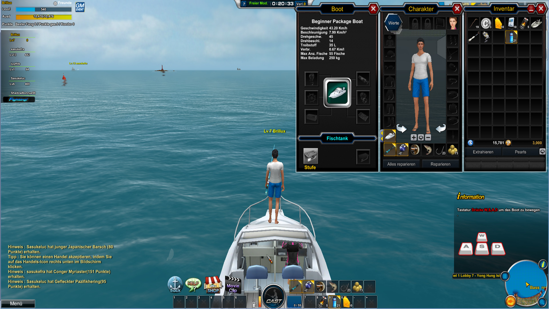 nat games world of fishing 1