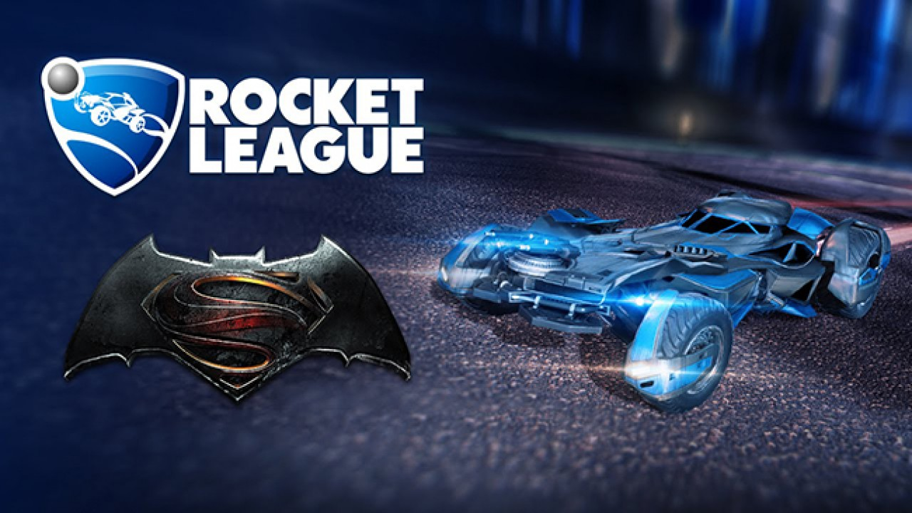 Rocket League – Batman v Superman Batmobile DLC bald verfügbar
