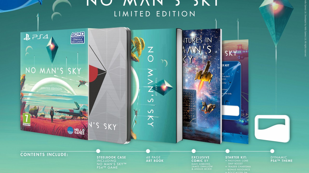 No Mans Sky – Limited Edition angekündigt