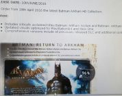 Batman – Foto von Arkham HD Collection geleaked