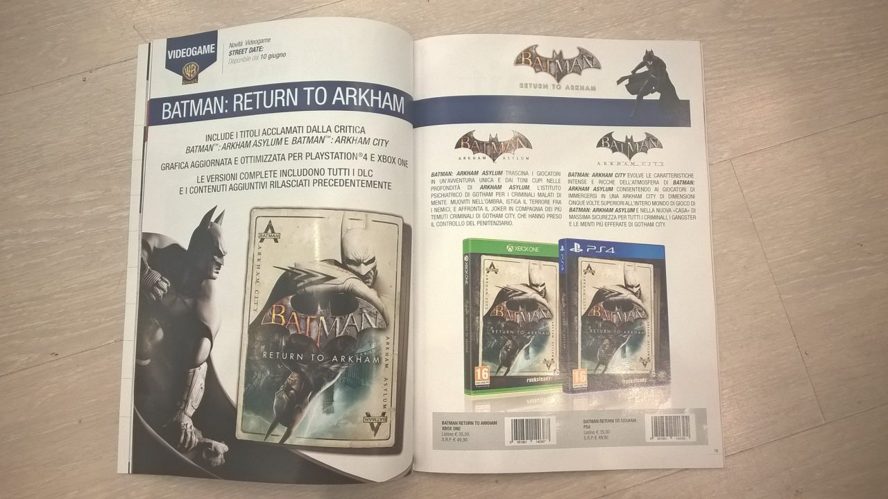 Batman: Return to Arkham – Cover der HD-Version geleaked