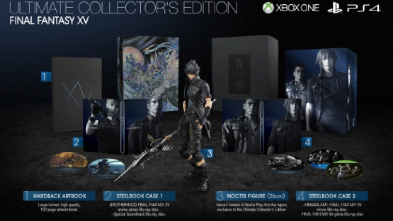 Final Fantasy XV – 10.000 extra Exemplare der Ultimate Collectors Edition kommen