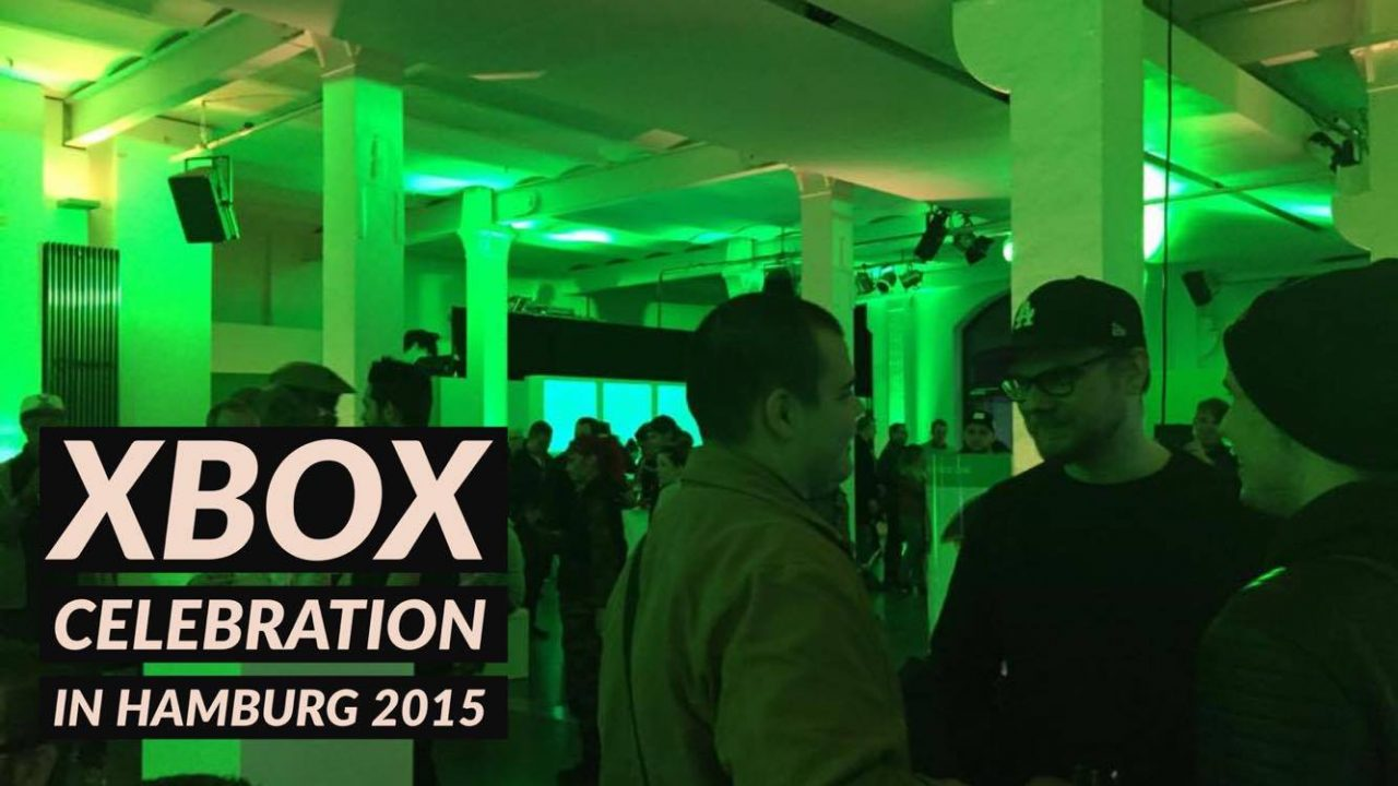 Xbox Celebration vom 20. Oktober 2015 in Hamburg