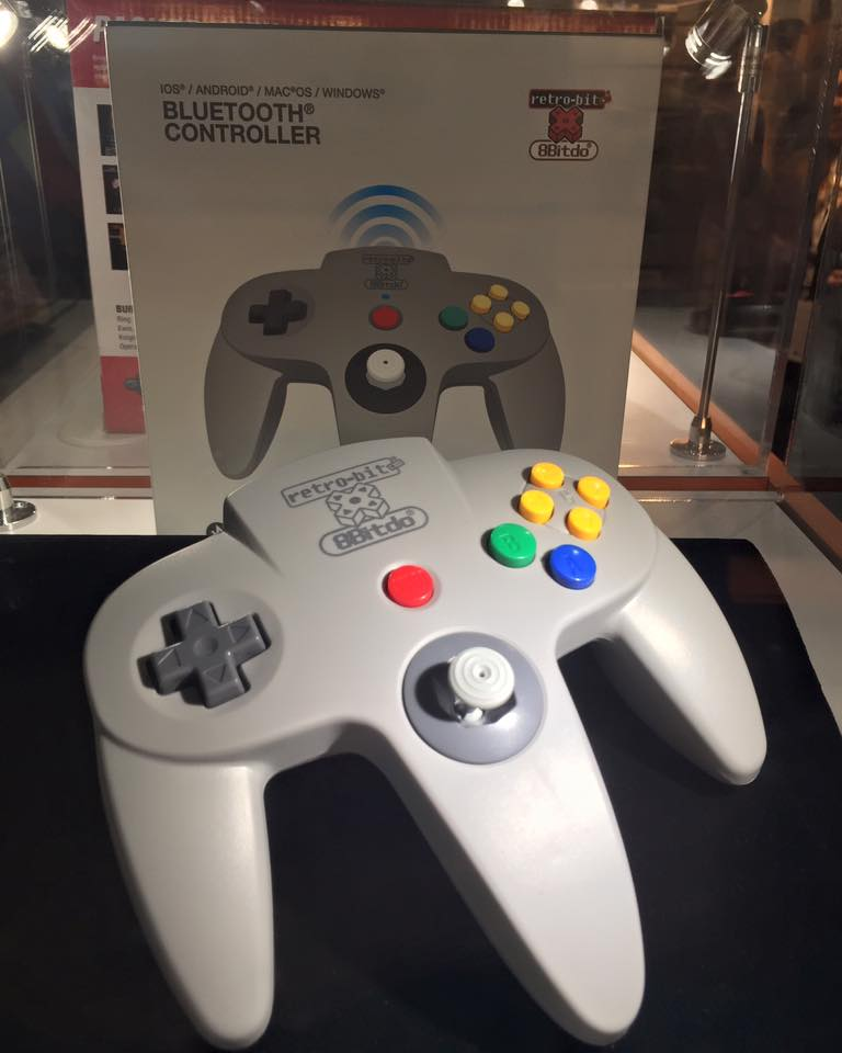 nat games n64 bluetooth controller