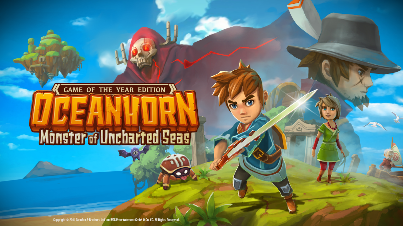 Oceanhorn: Monster of Uncharted Seas – Mobile Game Port erscheint für Konsolen