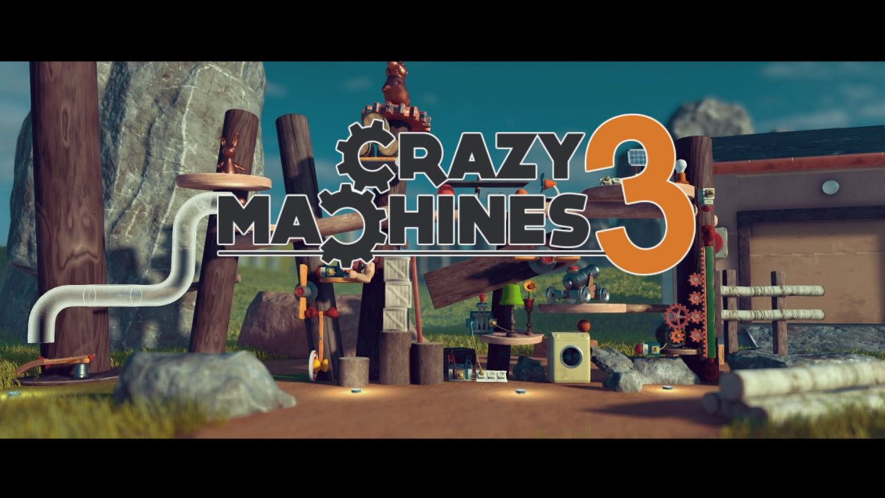 Crazy Machines 3 – Lädt zur Creepy Horror Physics Show ein
