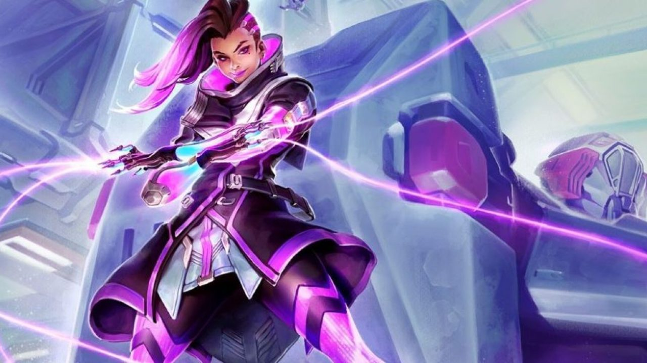 Overwatch – Offizielles Artwork zu Sombra in Blizzards Merch Store geleakt