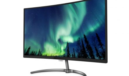 Philips 328E8QJAB5 Curved Monitor