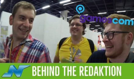 Behind the Redaktion gamescom 2017 Vlog #06 vom 23.08.2017