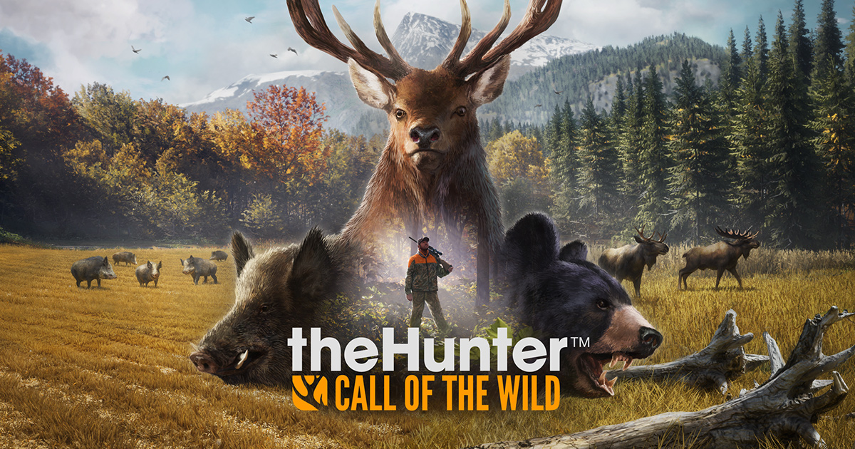 theHunter Call of the Wild-wallpaper-nat-games-logo-review