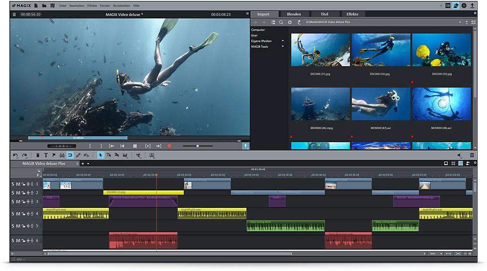 Magix Video Deluxe 2018 Premium Test Zur Schnellsten Video Deluxe