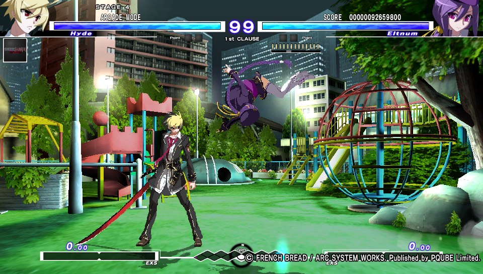 Under Night In-Birth Exe: Late[st]