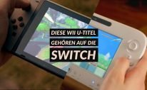 Wii U Titel auf der Switch Switch Port