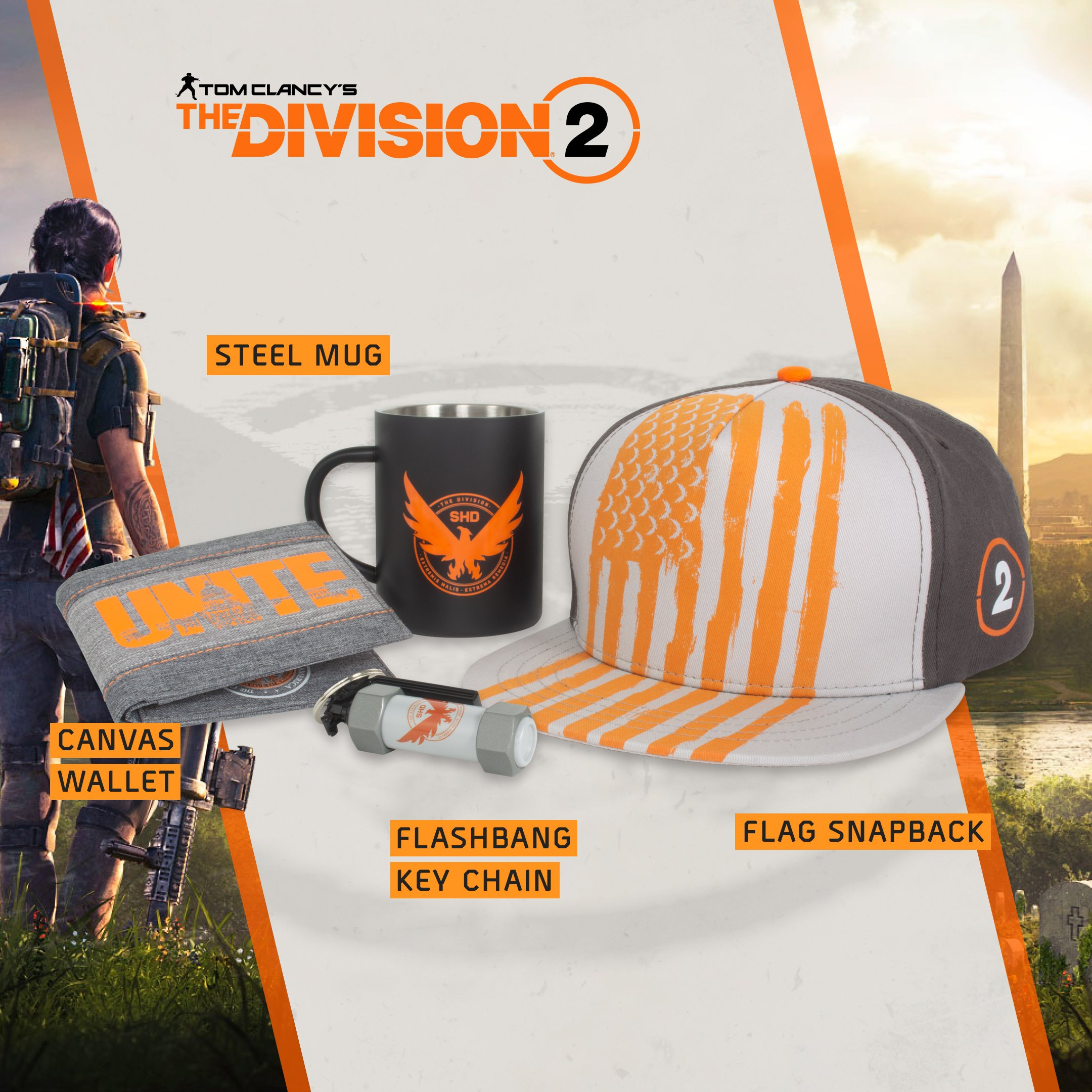 The Division 2 Numskull Designs