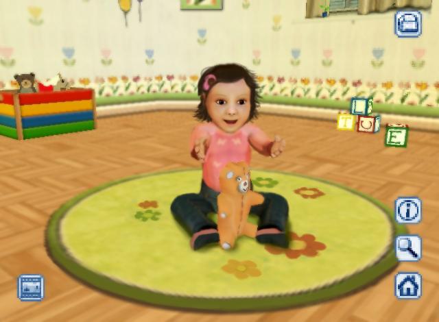 nat games my little baby 3d screen4
