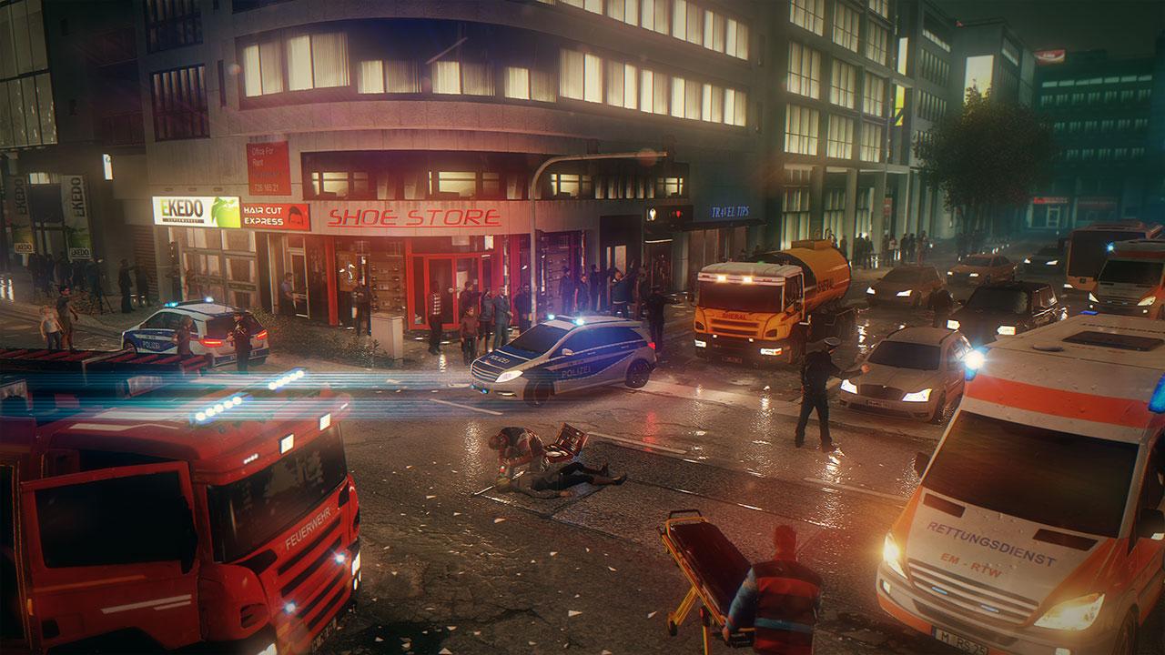 Das Spiel bietet uns erstmals verschiedene Städte mit unterschiedlichen Fällen.