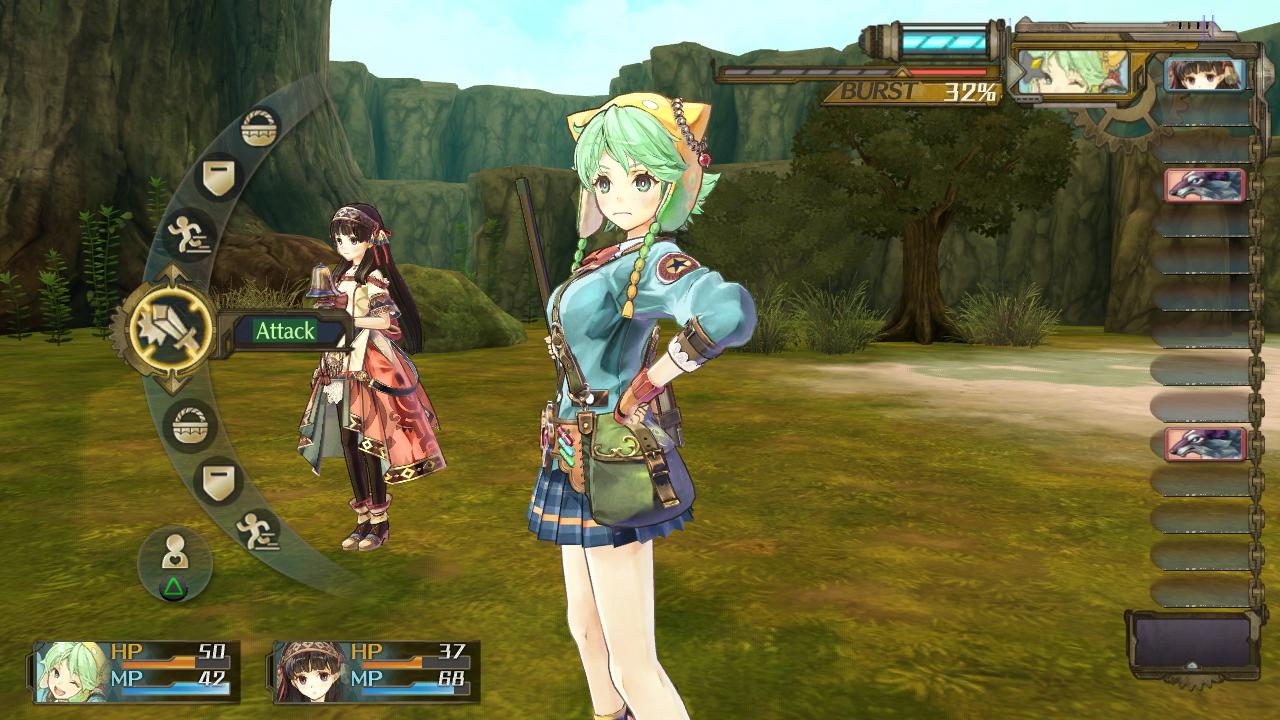 Das Kampfsystem ist klassisch für rundenbasierte RPGs, bietet aber dennoch einige Kniffe.