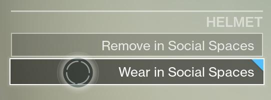 Nach dem nächsten Update werdet ihr eure Helme aufbehalten können.