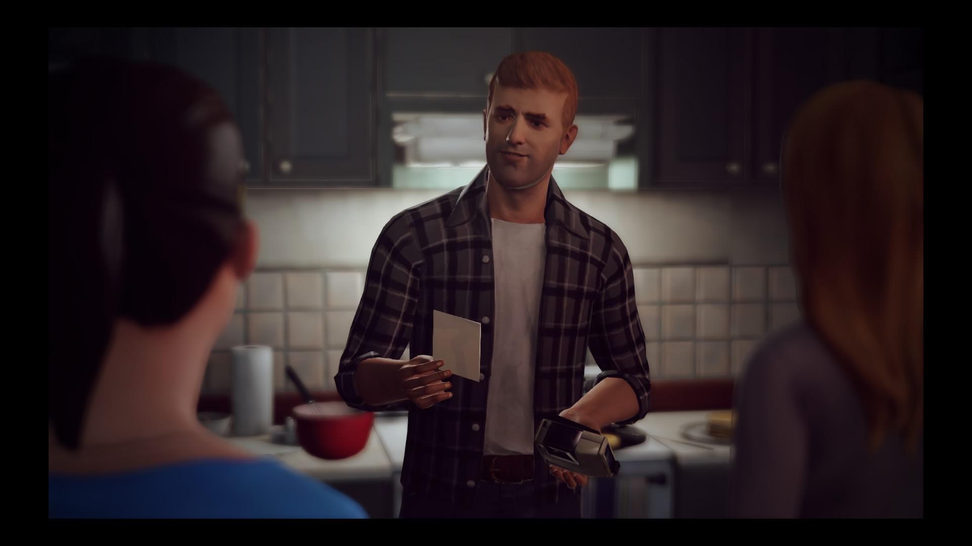 Etwas weiter zurück als gewohnt in der Vergangenheit, bekommen wir Chloes Vater William kurz vor seinem Ableben zu Gesicht.