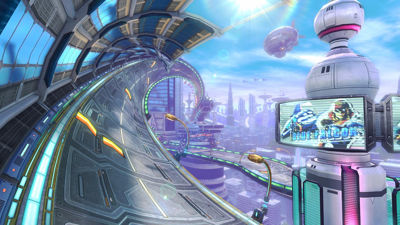 Mute City in Mario Kart 8.