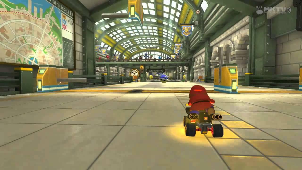 Marios Metro in Mario Kart 8.