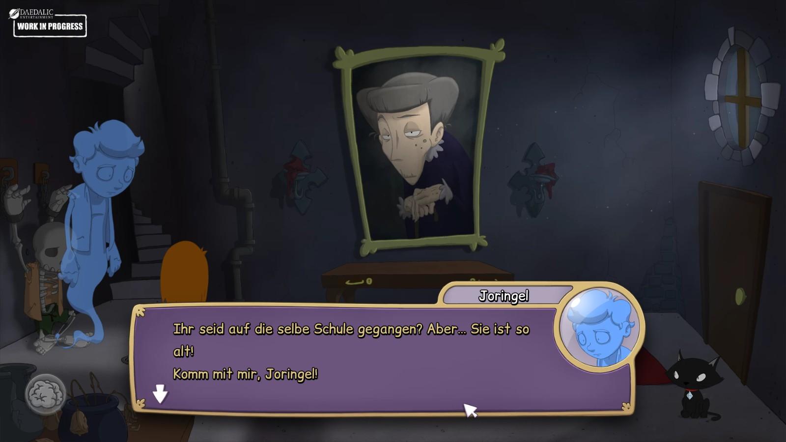 Märchenfiguren wie Joringel sind auch am Start