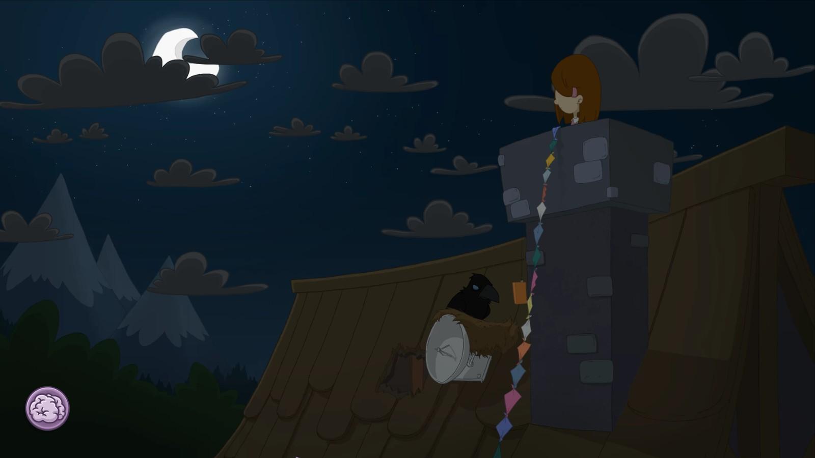 Wer kennt noch den Mond aus Whispered World? Dieser hier ist nicht so detailliert ausgefallen...