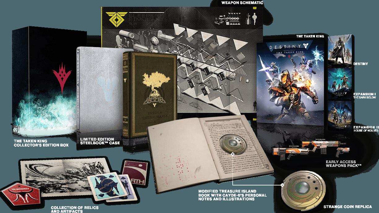 Hier die Inhalte der The Taken King Edition im Überblick.