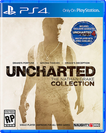 Der Packshot der Nathan Drake Collection.