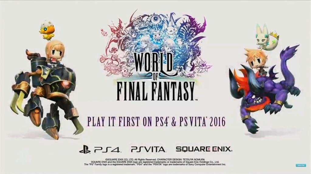 Die beiden Sony Konsolen erhalten ein exklusives neues Final Fantasy Abenteuer.