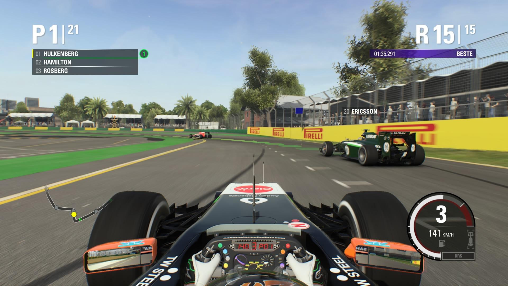 Besonders nach dem Start braucht es ein wenig Zeit, bis die Fahrer sich verteilt haben.