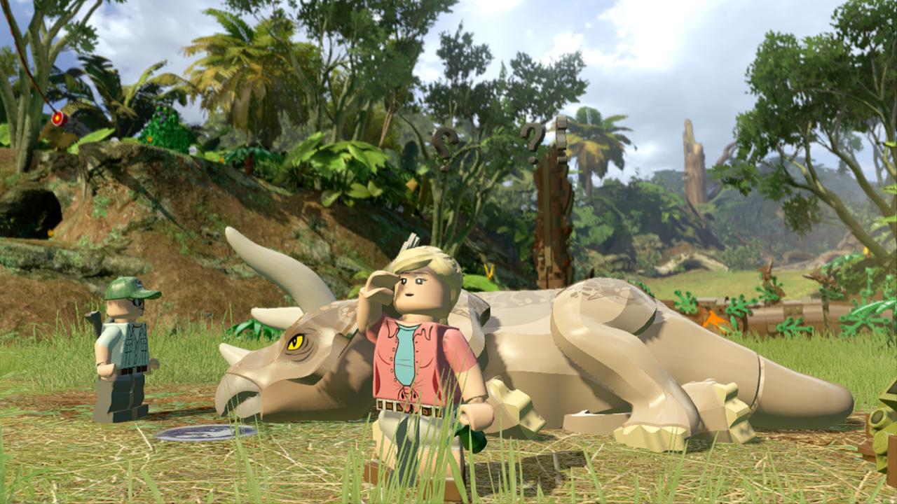 Die Interaktion mit den Dinosauriern ist wirklich genial.