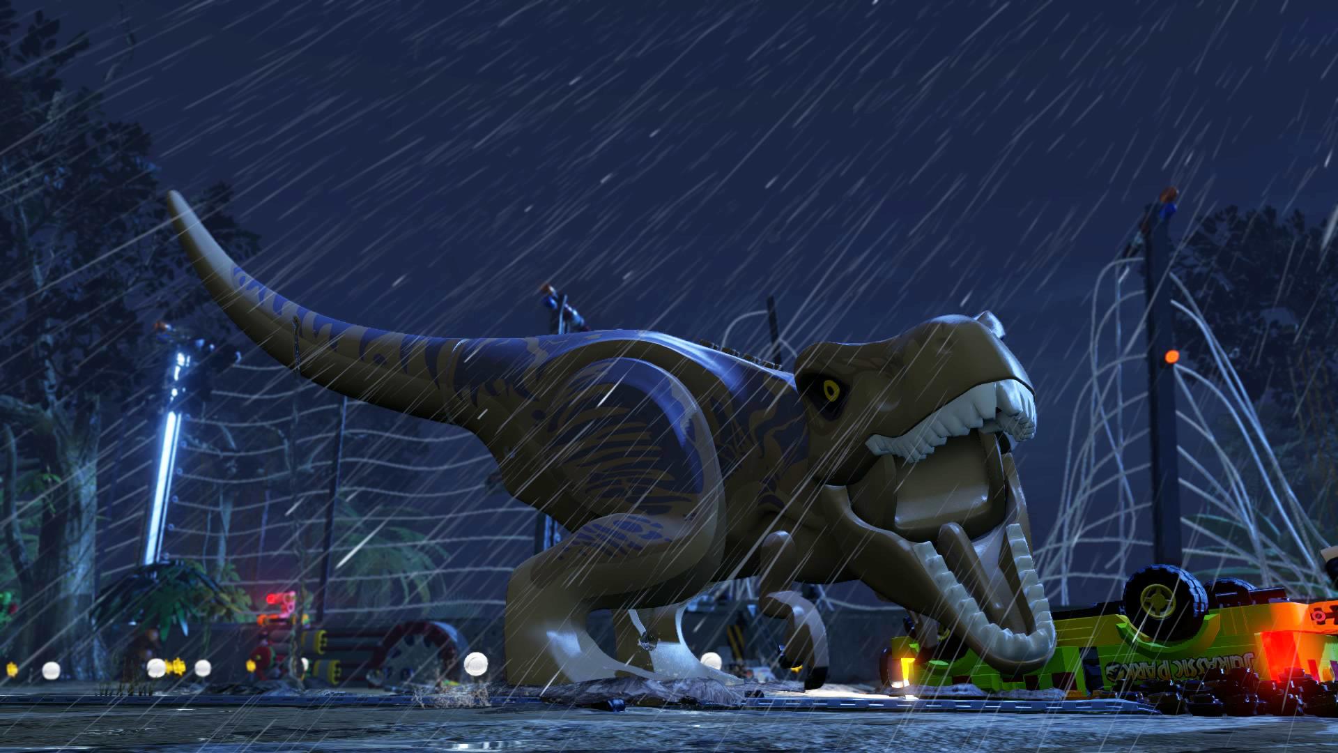 Der T-Rex möchte halt nicht eingesperrt werden. Er braucht Freiheit!