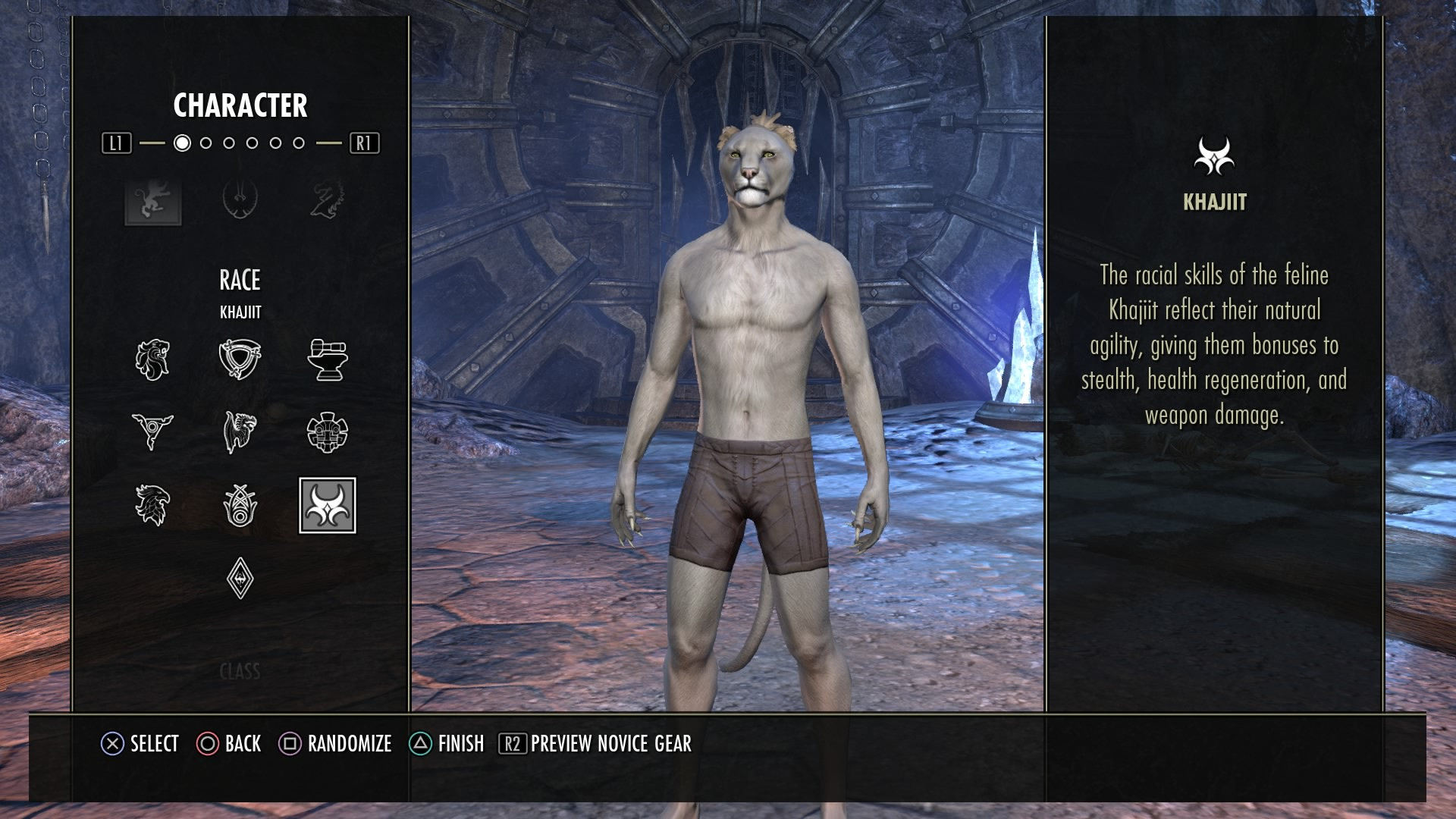 Der Charaktereditor bietet sehr viele Einstellungsmöglichkeiten.