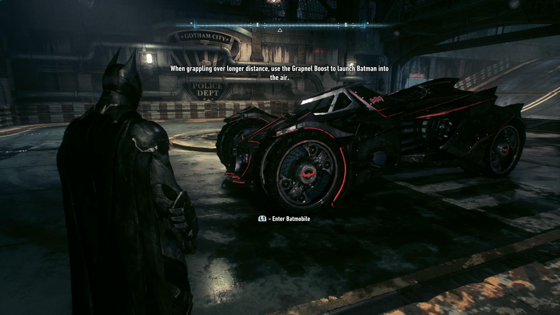 Das neue Batmobil erinnert zwar an den Tumbler, ist aber dennoch eine Klasse für sich.