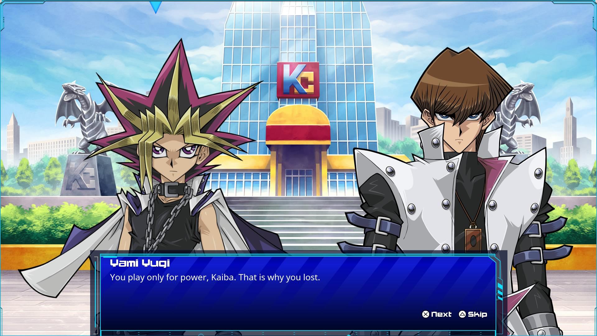 Yugi gg Kaiba eine der spannendsten Rivalitäten die es in der Serie gibt
