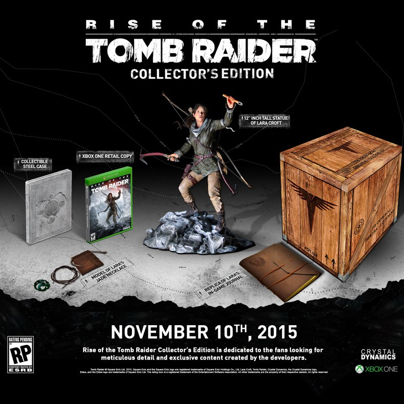 nat games rise of the tomb raider collectors edition
